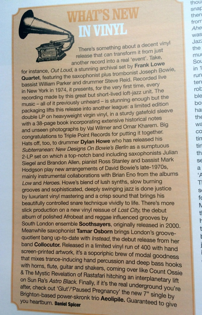 Collocutor Instead jazzwise review